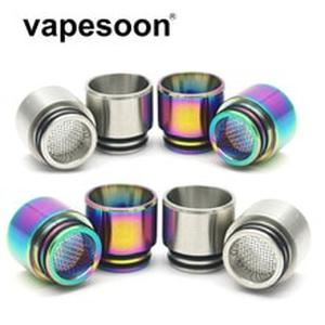 VapeSoon 810 Stainless Steel Drip Tip Anti-fried oil Drip Tip For IJUST 3  TFV12 Prince etc SS Rainbow Color