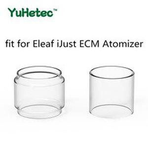 5PCS Original YUHETEC Replacement Glass TUBE for  iJust ECM Atomizer 4ml Normal Version/5.5ml Fatboy Version