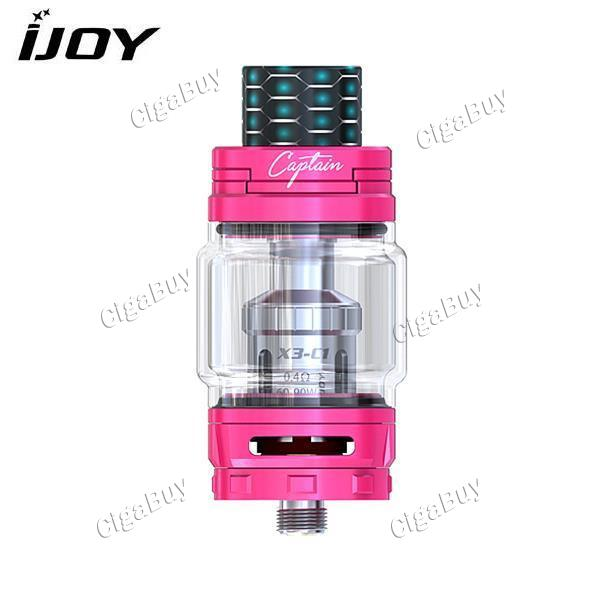 IJOY Captain X3 8ML Sub-Ohm Tank Atomizer - Pink