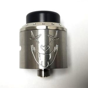 Exile Style 25mm RDA  w/BF Pin - Silver