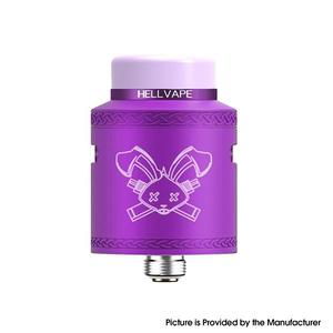 Dead Rabbit V2 24mm RDA Rebuildable Dripping Atomzier w/ BF Pin - Purple