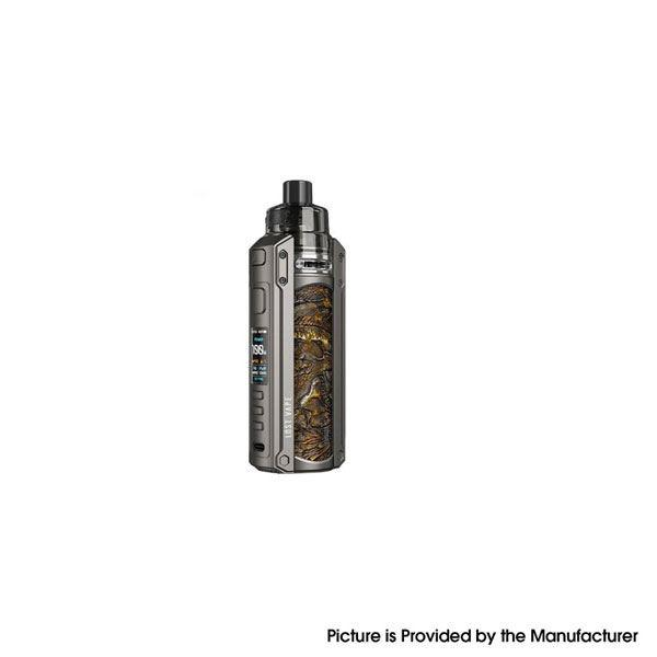 Ursa Quest Multi Pod Mod Kit 100W TC VW  + Ursa Pro Pod Tank - 5~100W, 7.0ml - Gunmetal-Ukiran Leather