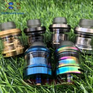 hot sub two RTA tank  Atomizer 24mm 3.5ml with coil 0.18ohm 316ss vape cotton Wick e cigarette Vape Vaporizer Tank vs INTAKE RTA