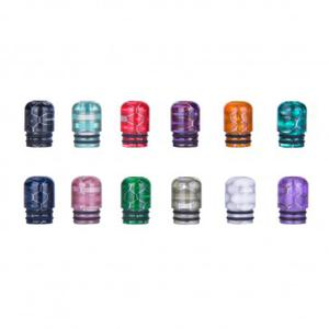 AS109S 510 Snake Skin Resin Drip Tip