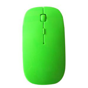 Ultra-thin 2.4G wireless mouse - Green
