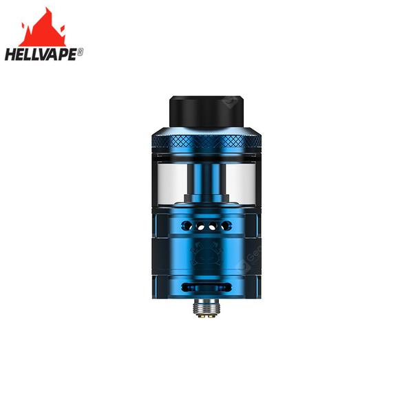 Fat Rabbit RTA Atomizer 5.5ml Capacity Dual Airflow System 810 Drip Tip  fit 0.37ohm Ni80 Fused Clapton Coil Vape
