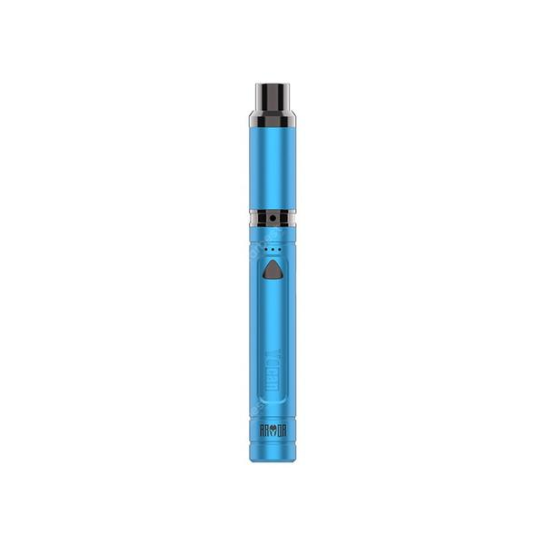 Armor Vaporizer Kit 380mAh Built-in Battery with QDC Coil 0.75ohm Adjustable Voltage USB Charging Electronic Cigarette
