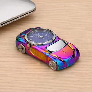 Sports car Watch Cigarette Lighter USB Charging Wristwatches Flameless Replaceable heating wire