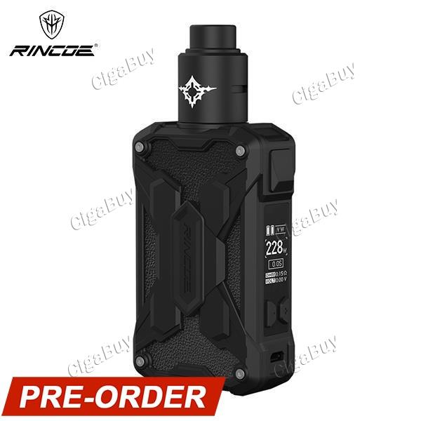 Rincoe Mechman Lite 228W RDA Kit - Full Black