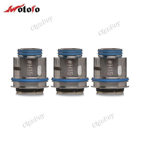 3 x   H15 SINGLE MESH & PARALLEL COIL 0.15ohm