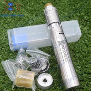 YFTK Style stratum zero mod with Vapor Giant v6 S 23mm RTA 316 stainless steel 18650 20700 21700 battery mech mod kit vape tank
