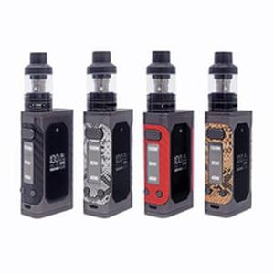 5PCS P8 100W box mod kit 2200mah bulit-in battery with 3ml tank vaporizer vape pen kit Variable power Electronic Cigarette