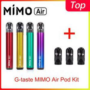 Newest G-taste MIMO Air Pod Kit 450mah built-in battery  & 1.3ml pod system vaporizer vs justfog minifit