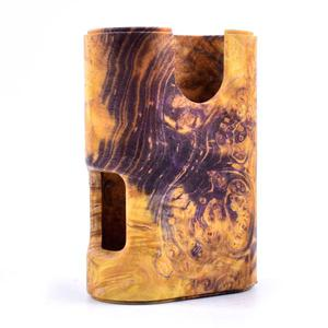 ARM Style Stable Wood Mod for ArM Squonk 18650 Mechanical Mod by Shenray - Yellow
