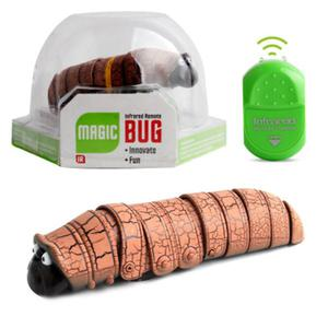 Remote control worm insect infrared reptile insect - Orange