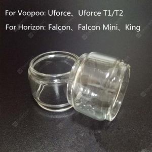 10pcs Extended Bulb Glass Tube for Voopoo Uforce T1 T2 Horizon Falcon Mini King RTA Atomziers