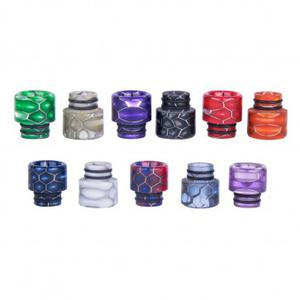 AS115S 510 Snake Skin Resin Drip Tip
