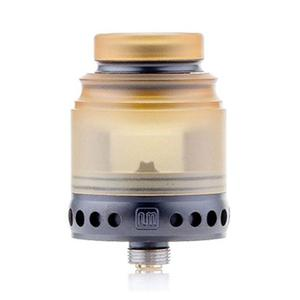 Anglo 24mm RDA  w/ BF Pin - Black/Yellow