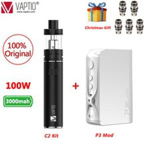 UK SHIPPING!! 100% Original  C-II Starter Kit 3000mAh and Long-last Battery 25mm Vaporizador Electronic Cigarette Vape Pen