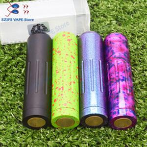 sub two Mech Mod 18650 Battery 24mm brass Vaporizer vape Mechanical Mod VS  25 Vindicato MOD AvidLyfe Elthunder mod