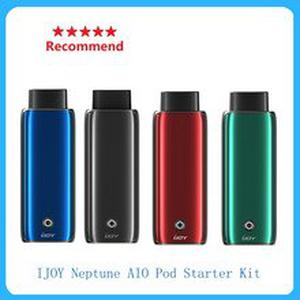 New arrival  IJOY Neptune Pod Starter Kit max 40W output with 650mAh built-in battery&1.8ml pod capacity vape kit