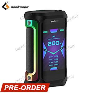 Aegis X 200W TC  - 7 Color Black