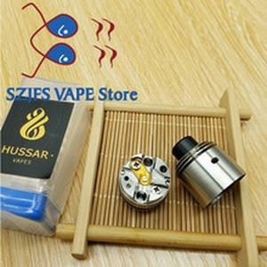 NEW arrived Hussar RDTA VAPE 316 steel material 2ML Single drop of oil Rebuildable atomizer fit 510 thread mod VS Hussar RTA