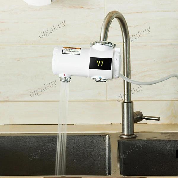 Xiaoda 220V 3000W Electric Hot Water Heater Faucet 3s Fast Instant Heating