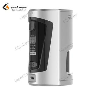 GBOX Squonker 200W 8ML  - Peal Chrome