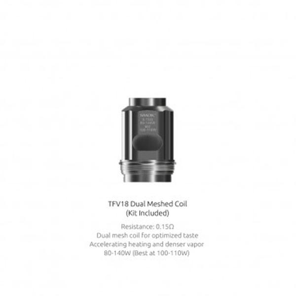 TFV18 Replacement Meshed Coils 3pcs