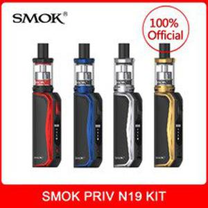 New  Priv N19 Kit with 1200mah Battery M/S/N/H Mode 30W With Nord Mesh MTL Coil Electronic Cigarette Vape
