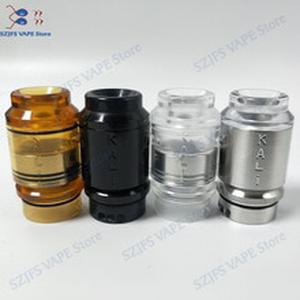 QP KALI RDA Fatality RDA Atomizer Drip Oil DIY 316 stainless steel and PC pei 25mm vape vaporizer vs Apocalypse GEN 25 RDA