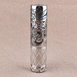 Suicide Purge Style 18650 / 20700 Mechanical Mod - Silver/Black