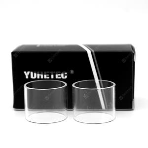 YUHETEC Replacement Glass Tank for IJOY Saber 100W / Diamond Subohm Tank 2PCS
