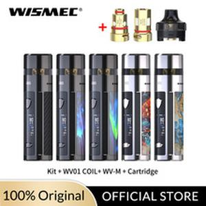 New Arrival Original 80W  R80 kit 4ml Cartridge with WV01 /WV-M coil head  no Single 18650 battery Electronic Cigarette