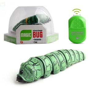 Remote control worm insect infrared reptile insect - Green