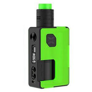 Pulse X 90W BF Squonk TC VW  Kit  w/ 8.0ML Bottle - Frosted Green