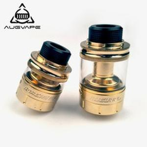 Boreas V2 RTA Atomizer 2.5ml 5ml Capacity Angled Upwords Airflow Gold Color Vape Electronic Cigarette Atomizer Tank