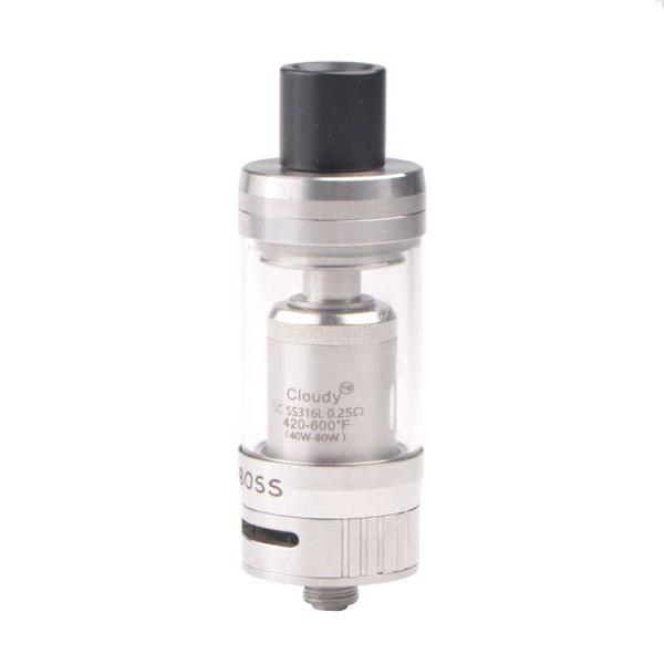 CLOY TECH BIG BOSS   0.25ohm  3.5ml Tank Clearomizer - Silver