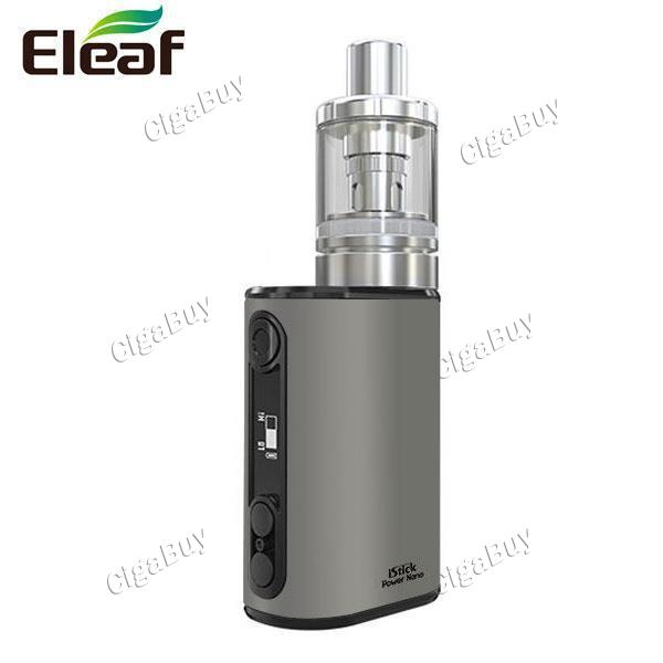 iStick Power Nano with MELO 3 Nano Kit - Brushed Silver