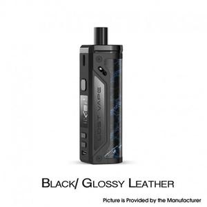 Thelema 80W Pod System VW Mod Kit - 3000mAh, 5~80W, 4.0ml, 0.2ohm / 0.3ohm - Black/Glossy Leather