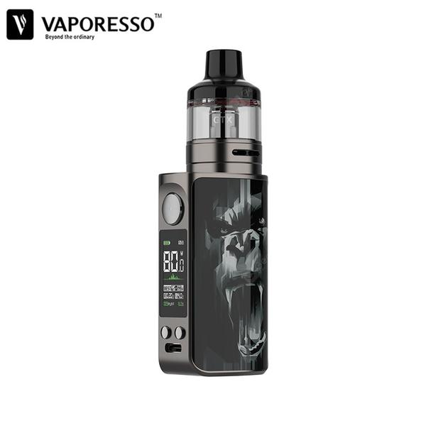 LUXE 80 Kit Built-in 2500mAh Battery 80W VW Mode with 5ml GTX Pod 26 fit GTX-Mesh Coil 0.2ohm/ 0.3ohm 0.96 inch TFT Screen Vape