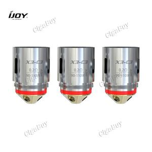 3 x  IJOY Captain X3-C3 0.2Ω 90-110W Sextuple Coil Head
