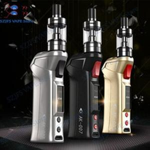 SUBTWO AK-007 70W Vapor Kit with  510 Thread 2ml Atomizer Target Pro VTC tank mod  vs LED display Electronic Cigarette Kit vs