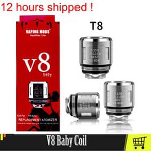 V8 Baby Vape Coil Head For V8 Big Baby Atomizer Evaporator Heater Core Baby Mesh T8 M2 Coil Electronic Cigarette Cores