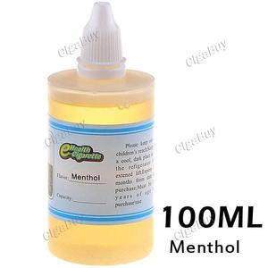 100ml Menthol Flavor E-liquid 16mg Nic