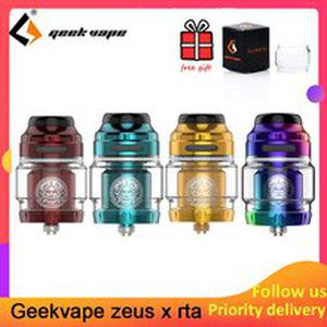 Zeus X RTA 4.5ml/2ml tank capacity with 810 Delrin drip tip Electronic cigarette atomizer upgrade zeus dual/ AMMIT MTL