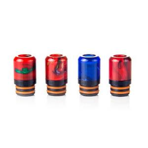 Iwodevape E-Cig Accessories Explosion-Proof Oil C Paragraph Epoxy Resin Drip Tip 510 Drip Tip 4 colors / group \r\n-\r\nCOLORMIX\r\n