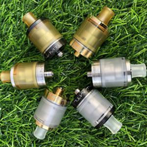 2019 Dvarw MTL RTA Atomizer 316 stainless steel diameter 22mm 2.0ml/5ml Bigger oval hole chimney RebuildableTank fit 510 vapemod