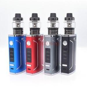 Electronic cigarette Q50 box mod kit 30-50-80w Built-in 1600mah battery 2.5ml huge tank Voltage Adjustable Huge Vape Mods Kit